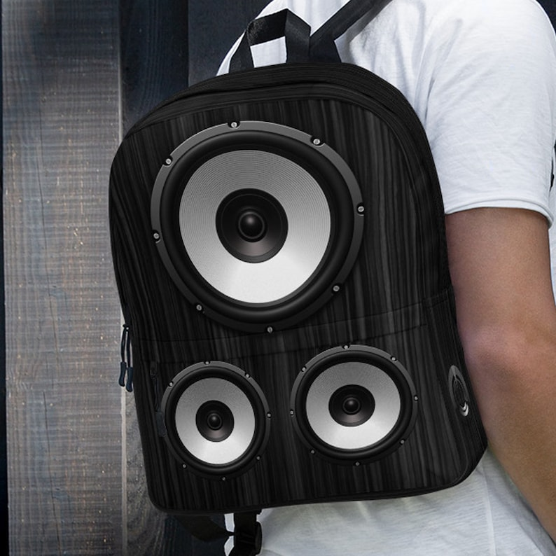 7c29bddaf4 Audio Speaker Design Black Backpack Music Dj Party Dance