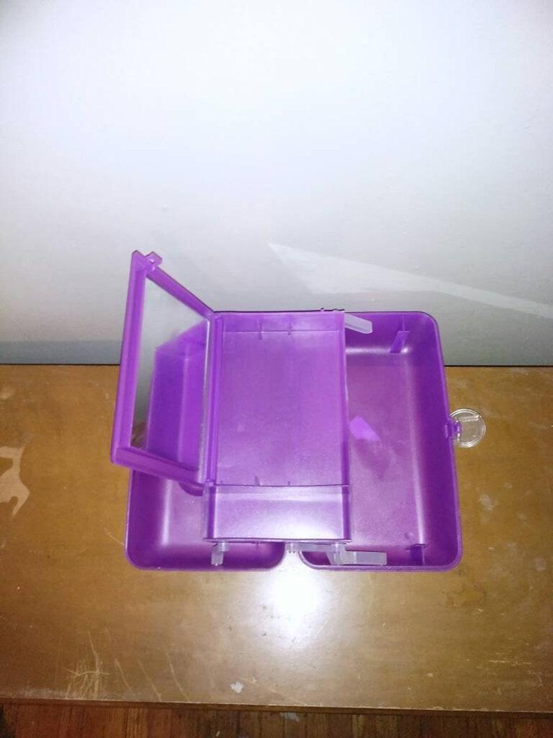 Vintage Purple Caboodle