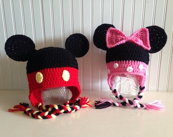 de704220 ... buy mickey or minnie mouse hats crochet hat disney hat halloween hat  c0d23 c49aa