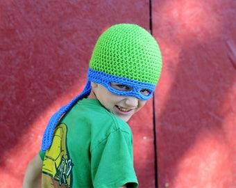 Ninja Turtle Hat, kids dress up hat, Halloween hat