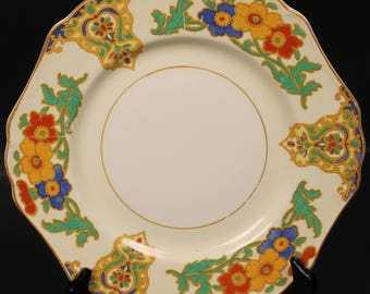 John Maddock & Sons ''Cairo or Minerva'' Luncheon Plate from England.  9''  (CGP-1645)