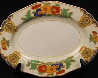 John Maddock & Sons ''Minerva'' Oval Platter from England.  8-1/2''  (CGP-1637)
