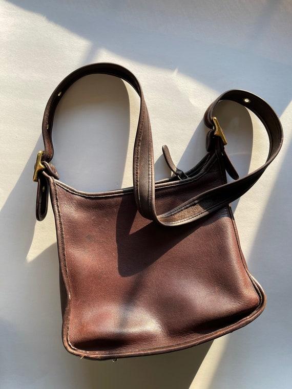 Vintage Leather Coach Purse | Vintage Coach Handba