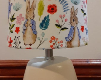 baby gift blue bunny child/'s lamp rabbit baby lamp woodland nurseryaccenttable lamp bunny baby lamp Bunny accentnursery lamp