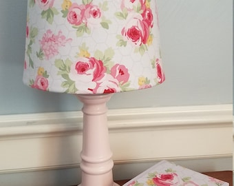 Floral Lamp Etsy