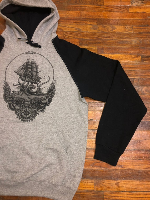Kraken, Ship of Fools, Lost Sailor GD LiveGrateful Inspired Hoodie
