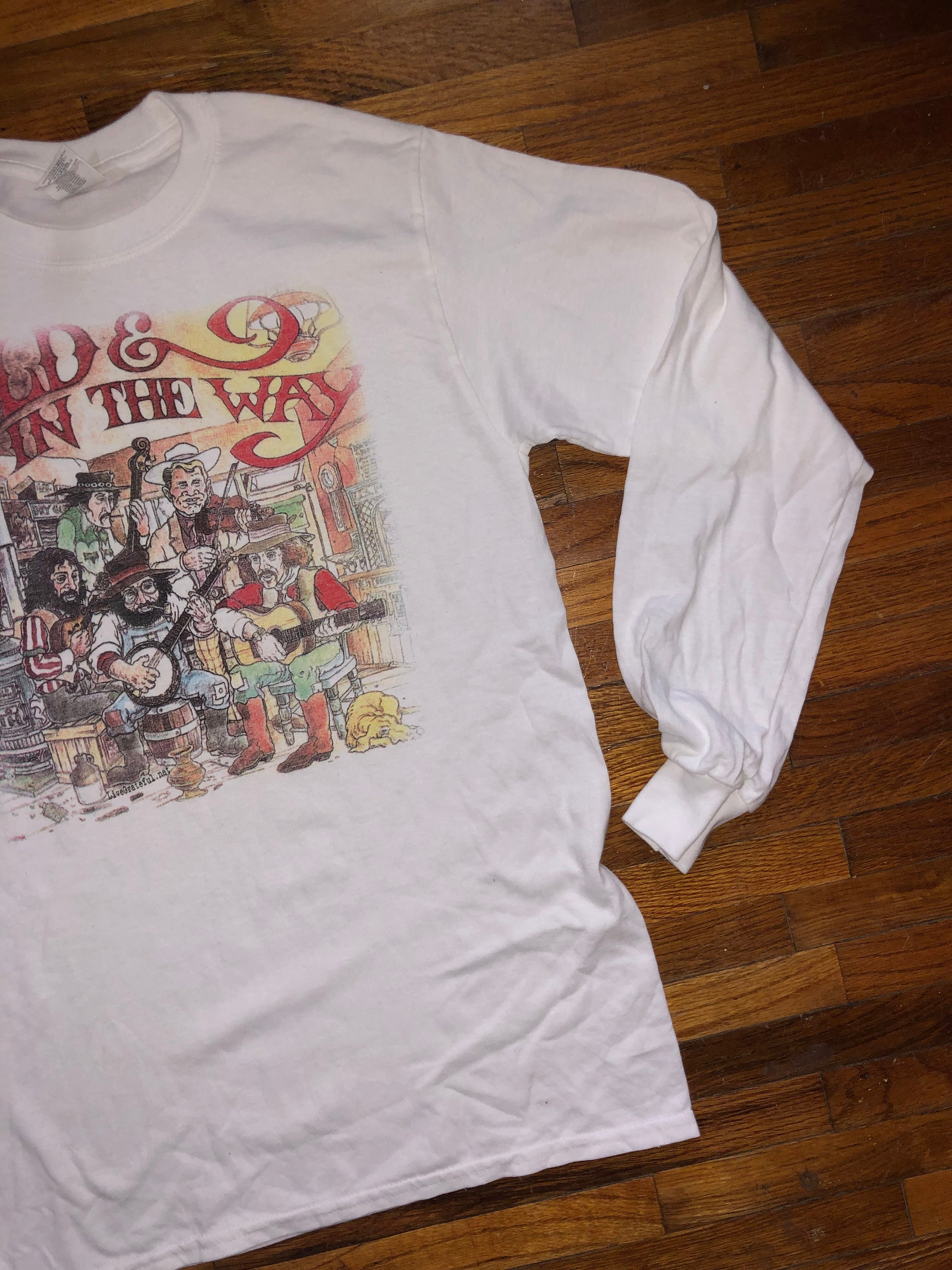 Old & in the Way Grateful Dead Shirt Long Sleeve Grateful