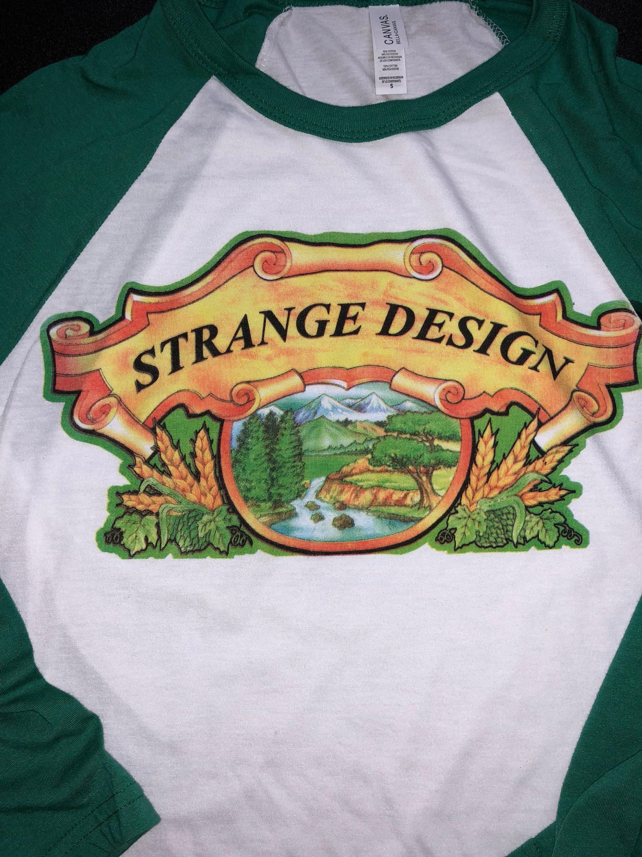 Strange Design Phish Baseball 34 Sleeve Lot Shirt Phish Store