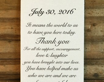 Photo Booth Frame Insert - Customizable - Script