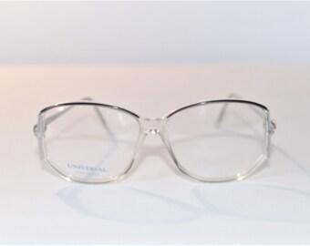 5ca0cc2b6f0 Vintage Womens Plastic Eyeglass Frame