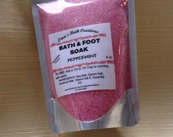 Bath & Foot Peppermint Soak