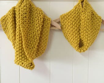 Mom and me cowls