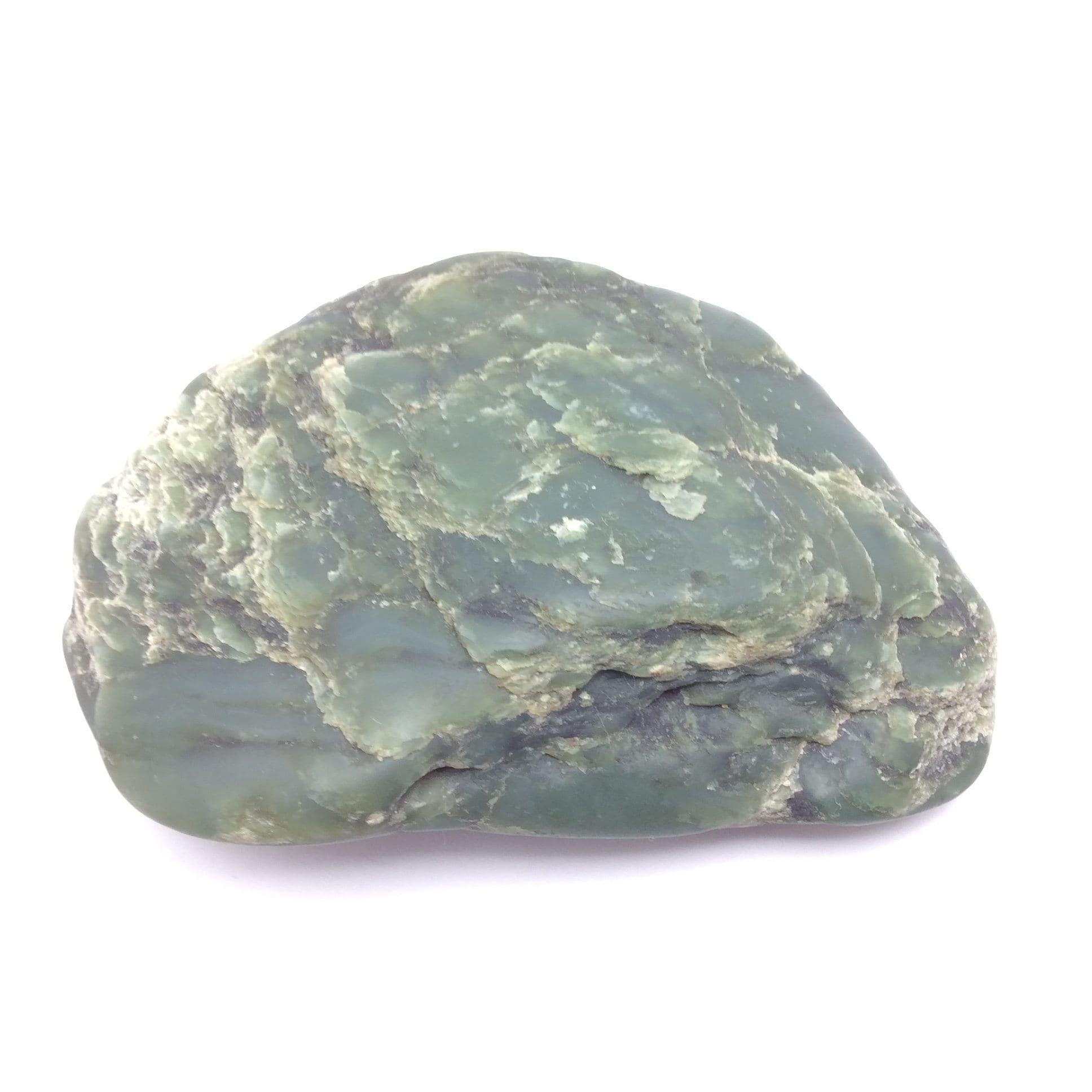 Big Sur Jade Pebble Specimen Green Ocean Polished Nephrite Gem Stone Monterey California #12