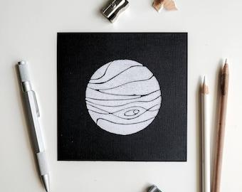 Jupiter Space Pioneer Art Print