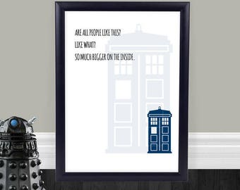 Doctor Who Bathroom Etsy