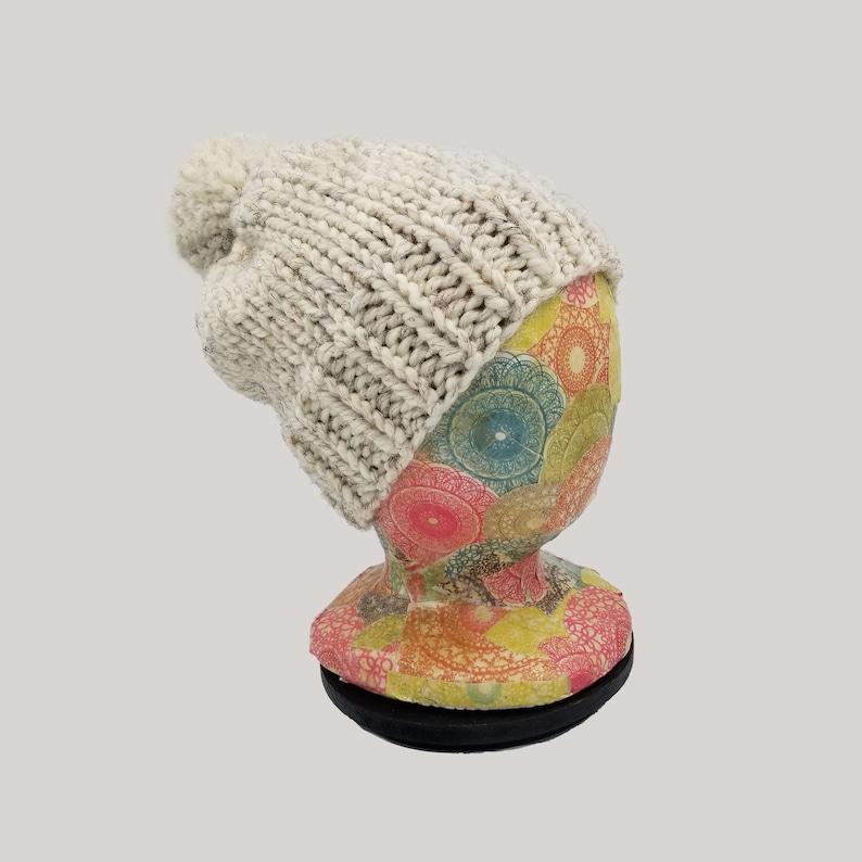 Kids Pompom Hat Bobble Hat Girl/'s Hat Kid/'s Winter Hat Kids Pom Pom Beanie Chunky Beanie Boy/'s Hat Child/'s Chunky Pompom Hat