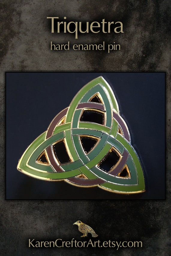 Celtic Hare High Quality Metal /& Enamel Pin Badge with Secure Locking Back