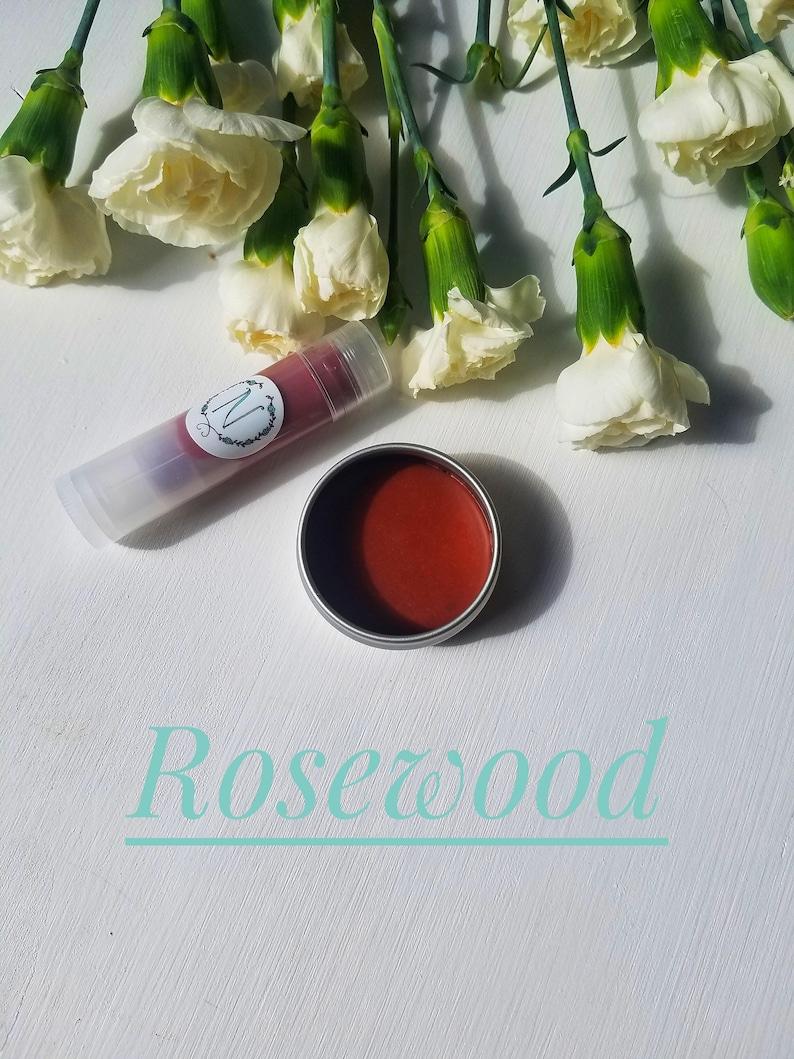 Rosewood Tinted Lip Balm image 0