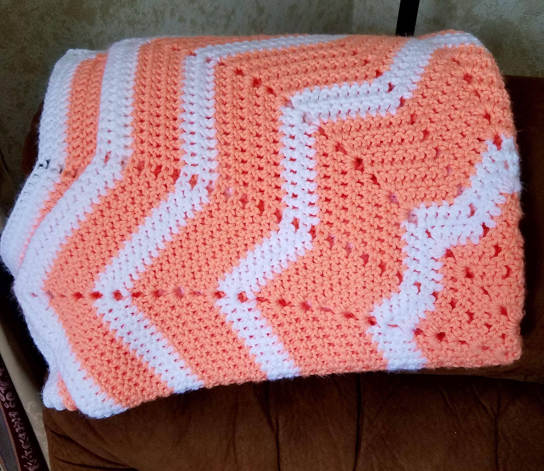 Star Crochet Blanket Baby Blanket Crochet Lap Blanket Etsy