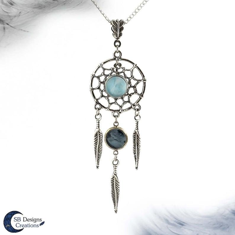 7ed6458a076a Collar atrapasueños sueños espiritual collar collar de zen