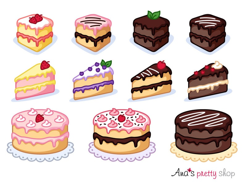 Kuchen clipart st ck kuchen clipart b ckerei clipart for Kuchen sofort lieferbar