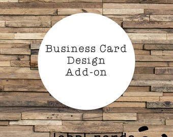 Business Card Design Add-on, Business Cards, Business Branding, Thank You Cards, Compliment Cards, Custom Packaging