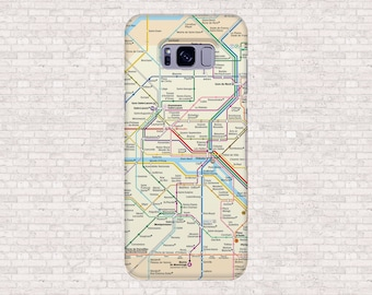 Paris tube map | Etsy
