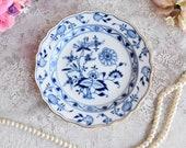Meissen vintage plate porcelain dish plate Meissen Germany plate german floral porcelain dish