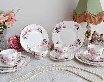 Colelough Bone China England tea set vintage porcelain English porcelain bone china tea set
