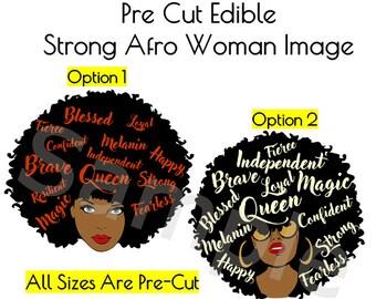 Afro Woman/Man