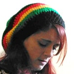 Jamaican Slouch Hat, Rastafarian beanie, crochet beanie, Dreadlocks slouch, Boho Style For Him, Rasta hat, dreads hat, large hat