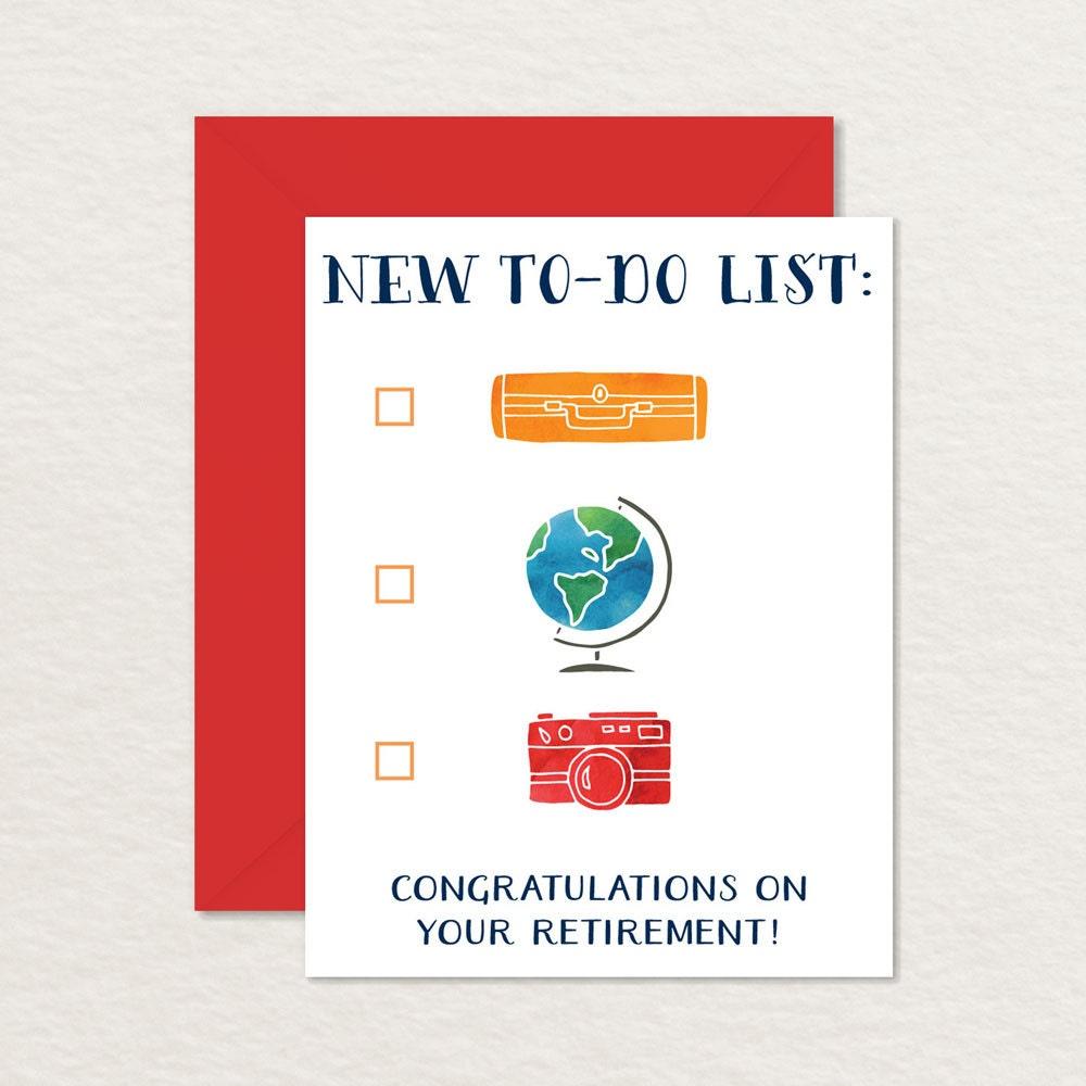 Printable Retirement Card Congratulations Retirement Etsy