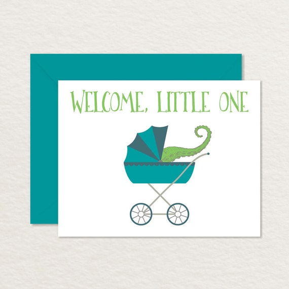 welcome baby card funny baby card printable nerdy etsy