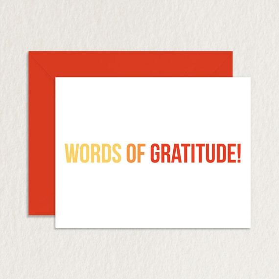 Printable thank you card printable greeting card words of printable thank you card printable greeting card words of gratitude a2 funny thank you printable appreciation card m4hsunfo