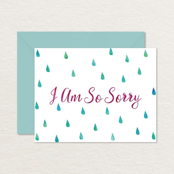 picture regarding Sympathy Card Printable referred to as Printable Sympathy Card / Printable Apology Card / Empathy / Miscarriage Infertility Reduction Card / Dying Bereavement Card / A2 Im Sorry Card