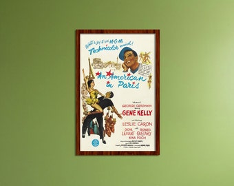 An American in Paris Small Movie Poster | MOVIC6874