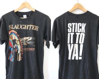 Vintage Slaughter T-shirt // Rare!!