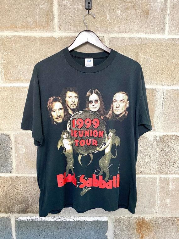 Vintage 1999 Black Sabbath Reunion Tour T-shirt