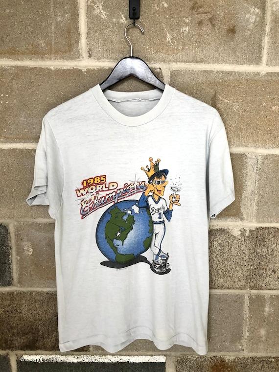 Vintage 1985 Kansas City Royals World Series T-shi