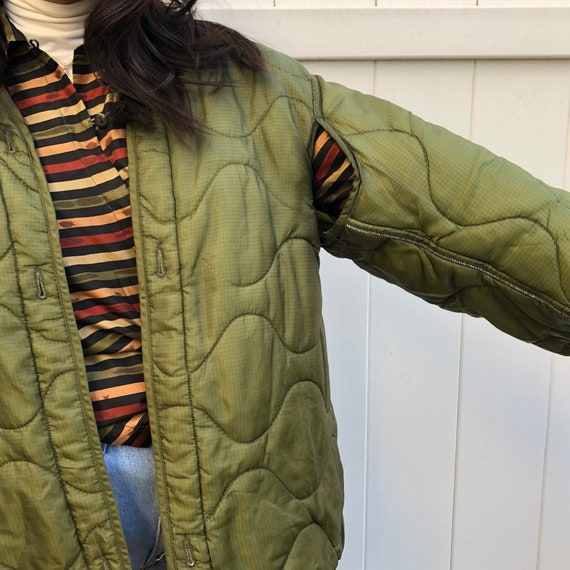 Vintage Army Shell Liner Jacket