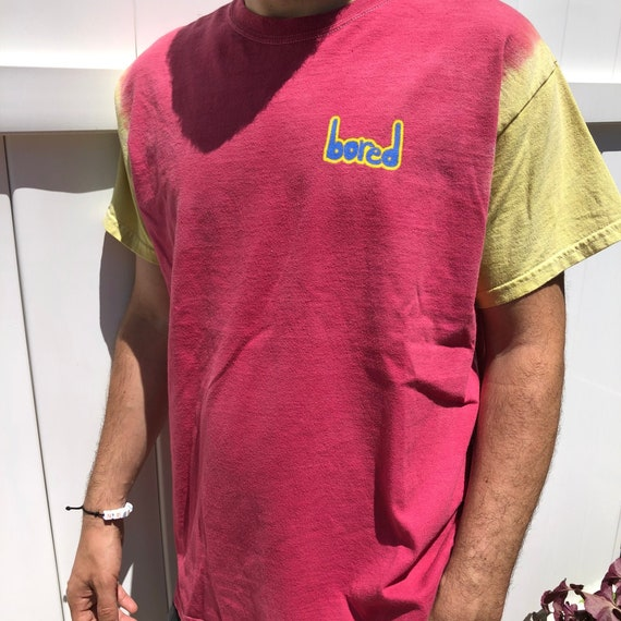 Vintage 90's Bored Teenager Street Style Tie Dye T