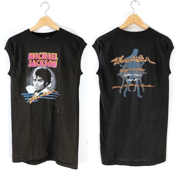 Vintage 1983 Michael Jackson Thriller Sleeveless T