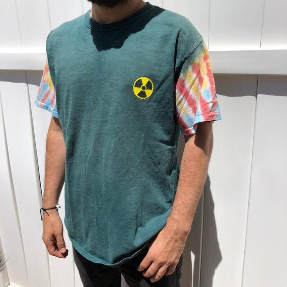 Rare Vintage Bored Teenager Skull Tie Dye T-shirt