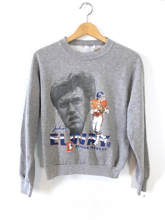 Vintage 90's John Elway Denver Broncos Crewneck Sw