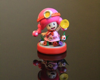 Custom Amiibo - Captain Toadette as feature in Captain Toad