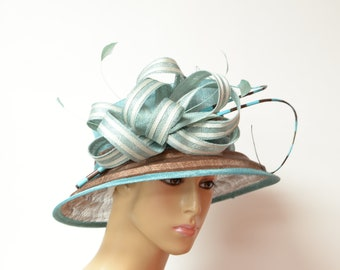 9e9eeddc4cf36c New High Quality Sinamay medium size brim hat, Kentucky Derby Hat, English Royal  Hat, Wedding Hat,Formal Hat, Dressy Hat, Church Hat