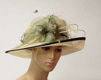 3962cb2e823 2019 Collection New High Quality Sinamay Hat