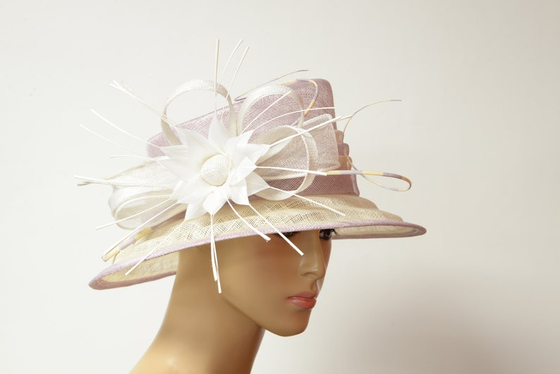 5224dd3c 2019 collection New High Quality Sinamay hat Kentucky Derby   Etsy