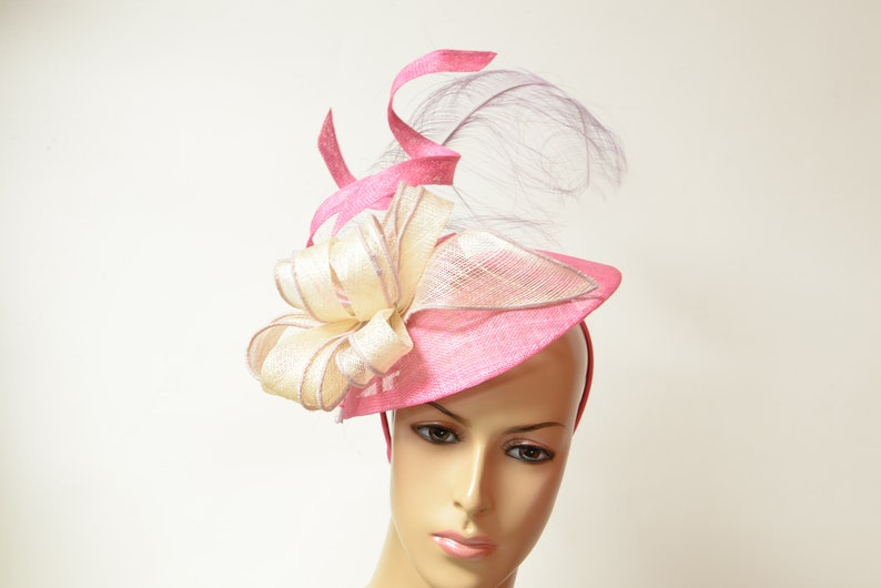 33c2a85b 2019 New High Quality Sinamay/Feather Fascinator QUEEN'S   Etsy
