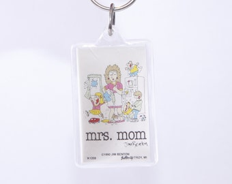 Hanging Key Chain Duck Vintage Sailboat Key Ring ~ 20-17-589 Jim Benton Go In Style Keychain Button-Up